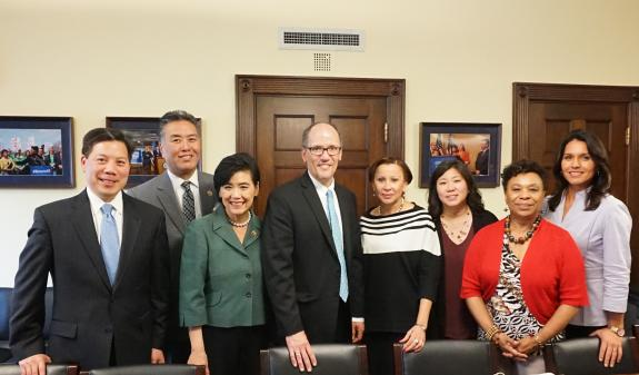CAPAC Applauds Department of Labor's Announcement to Update Asian American and Pacific Islander Labor Force Report